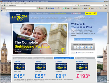 London pass website