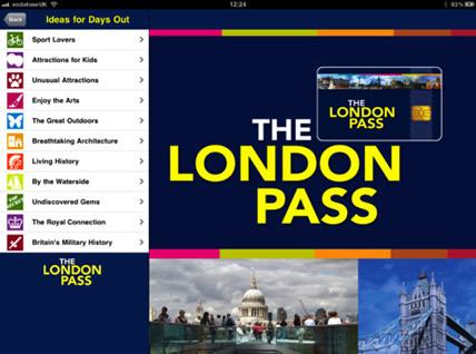 Webheads Launches a New London Pass iPhone App   Webheads