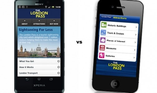 Mobile website vs phone App