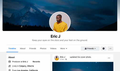 exploring ux with facebook